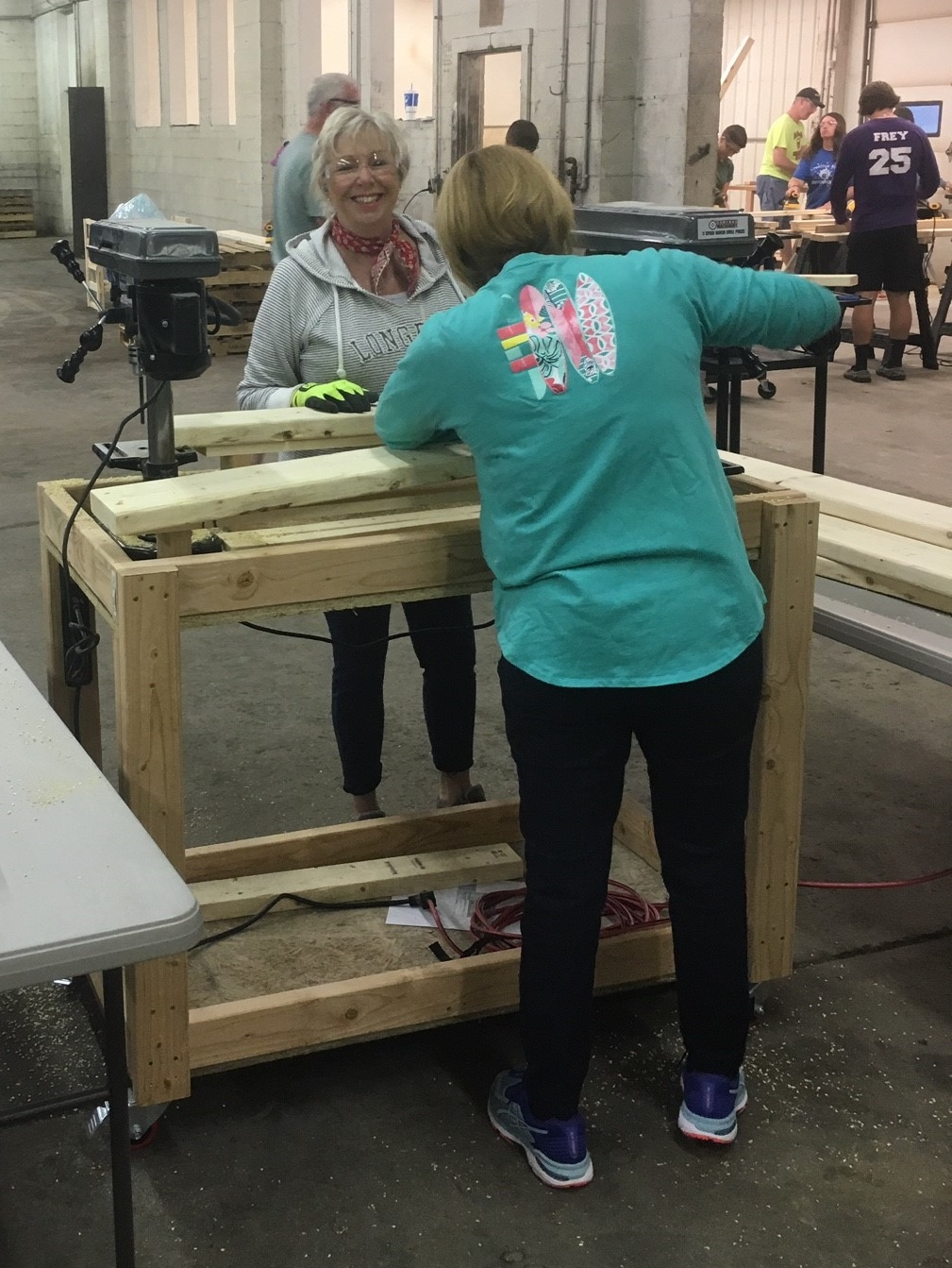 Building new beds for children